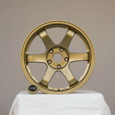4 ROTA WHEEL GRID 2 PCS 17X9 42   & 2 PCS  17X10  5X114.3 50 73 GOLD LAST SET