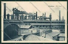 Livorno Piombino Acciaieria cartolina QQ3749