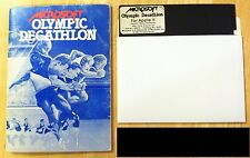 Olympic Decathalon by Microsoft with 5.25 disk for Apple II+,IIe,IIc,IIgs 1981