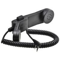 H250 Military Handheld Speaker Mic Shoulder Microphone for Radio Walkie Talkie