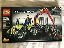 8049 LEGO Technic Tractor with Log Loader; NEW & Sealed