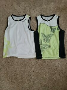Lot of 2: SPECIALIZED SIZE MED RACING CYCLING BICYCLE JERSEY SLEEVELESS WOMEN'S