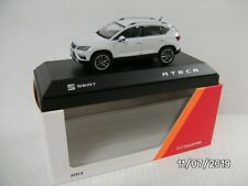 SEAT ATECA MODEL CAR 1:43 SCALE NEVADA WHITE 6H1099300GAB NEW GENUINE