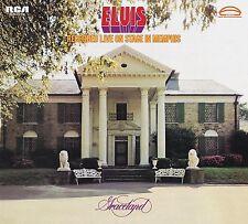 ELVIS PRESLEY - ELVIS RECORDED LIVE ON STAGE IN MEMPHIS (LEGACY ED 2 CD NEU