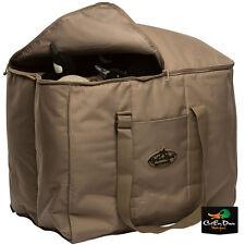 Rig'Em Right Waterfowl Deluxe 6 Slot Full Body Lesser Goose Decoy Bag Khaki