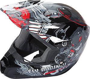Fly Racing Kinetic Invazion Youth Helmets Motorcycle ATV/UTV Dirt Bike