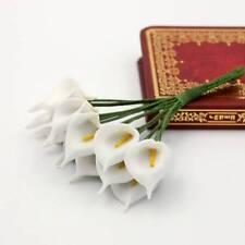 144 pcs/lot Calla Lily Party Decoration Craft PE Foam Flower Wedding Accessories