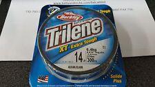 1 Spool Berkley Trilene XT Extra Tough Clear Mono Line 14 Pound Test 300 Yards