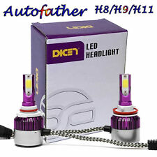 Cree H8 H9 H11 LED Headlight Light Bulb White Beam Replace Halogen 72W 7200LM AU