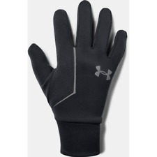 Under Armour Storm Correr Forro Guantes para Hombres Negro
