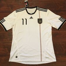2010 Germany Home Jersey #11 KLOSE XL World Cup Soccer Adidas Football NEW