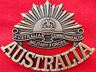 **ANZAC WW1 & WW2 RISING SUN COMMEMORATIVE UNIFORM BADGE MEDALS AUSTRALIA