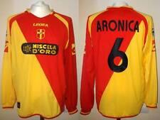 MAGLIA ACR MESSINA LEGEA 2005-06 ARONICA MATCH WORN INDOSSATA SHIRT CALCIO FC