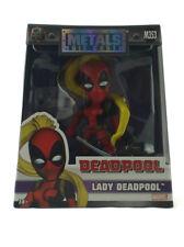"Jada Toys Die-Cast Metals Lady Deadpool 4"" Inch Figure Marvel Comics New M353"