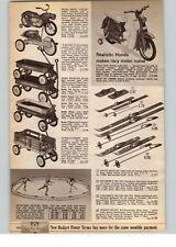 1966 PAPER AD Honda Toy Play Pedal Car Bicycle Motorcycle Look Cycle