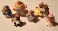 1994 Hallmark Cinderella Merry Miniatures Figures - Set of 6
