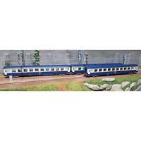 REE Modeles VB-176 Set 3 cuccette B9c9 livrea blu/grigio SNCF encadré bianco