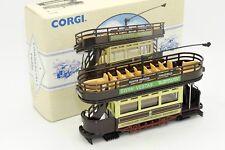 CORGI TRAMWAY OPEN TOP TRAM LOWESTOFT #98150 AVEC SA BOITE