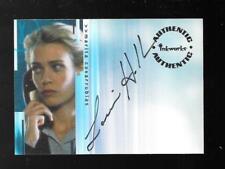 The X-Files Seasons 4 & 5 autograph card A4 Laurie Holden - Marita Covarrubias
