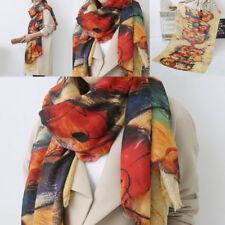 bfbe121c13f22 Women Ladies Printed Soft Warm Sheep Cashmere Long Scarves Wrap Shawl  Winter Pop