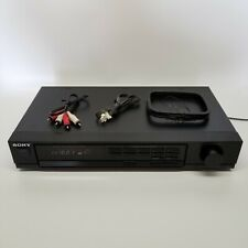 Sony St-Jx401 Digital Am/Fm Stereo Tuner Digital Synthesizer Control S Cable