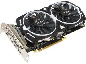 MSI Radeon RX 570 8GB Armor (RX 570 ARMOR 8G OC) Video Graphics Card GPU