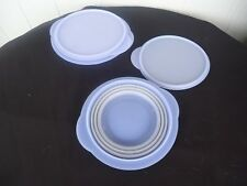 2 tupperware go flex 950ml collapsible bowls