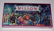 Willow Board Game Based on the Game of Heroes, Villains and Magic NIB