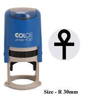 PrintValue PermitColop Printer 20 Self Inking Rubber Stamp 37x13 mm