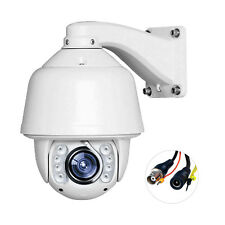 1200TVL Auto Tracking 30X Zoom PTZ Analog High Speed CCTV Security Camera 8IR