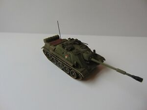 1:72 BUILT & PAINTED RUSSIAN SU-122-54