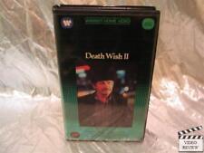 Death Wish II VHS Charles Bronson Jill Ireland Vincent Gardenia J.D. Cannon