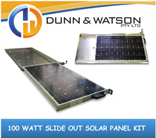 100 Watt Slide Out Solar Panel kit (4wd, 4x4, Slideout, 80w, Pull Out, Pullout)