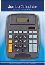 Jumbo Home Office Desktop Calculator 8 Digit Large Button Large Calculator