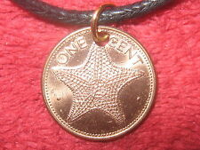AUTHENTIC COPPER TONE BAHAMAS STAR STARFISH SEA OCEAN CHARM PENDANT NECKLACE