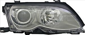 TYC Headlight D2S Right Titanium For BMW E46 8377262