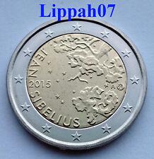 Finland speciale 2 euro 2015 Sibelius UNC