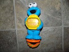 Rare Mattel 2000 Cookie Monsters Sesame Street Crib Stroller Pull Toy