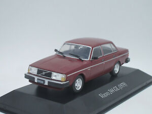Volvo 244 GL 4-dr 1979 1/43 IXO Unforgettable Cars Argentina