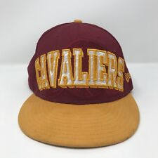 Cleveland Cavs Yellow New Era 9Fifty NBA 7 1/2 Hat Cap Maroon Yellow Fitted