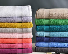 LOT 5 Maxi Draps de bain - 70x140cm - 100% Coton - serviette toilette qualité -