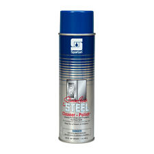 Case of 12 Spartan Stainless Steel Cleaner Polish Water Base Aerosol