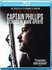 Blu Ray • Captain Phillips Attacco in Mare aperto TOM HANKS OSCAR ITALIANO