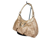 Gucci Guccissima Leather Gold Shoulder Bag GS2038