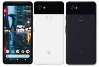Fully Unlocked Google Pixel 2 XL | 64GB 128GB | Black White Panda (CDMA+GSM)