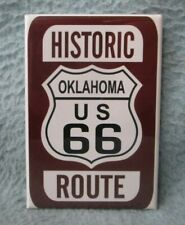 Historic Oklahoma US Route 66 Magnet Travel Souvenir Refrigerator