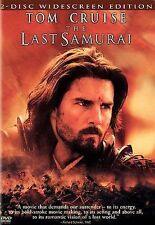 The Last Samurai (DVD, 2004, 2-Disc, Widescreen Edition)Tom Cruise NEW & SEALED!