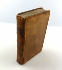 #e4417 Altes Buch 1772: the sporting calendar in Great Britain Ireland Jamaica