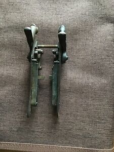 Vintage Percussion Double Barrel Side Locks Complete And Functioning.