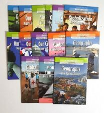 Mixed Lot of 14 Conceptlinks Literacy and Language Through Content Books
